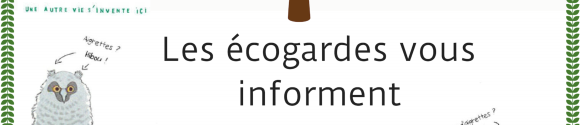 Information écogardes